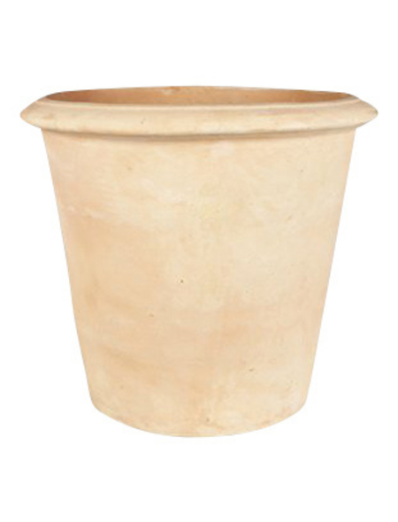 Topf »Omar«, Breite: 21 cm, terrakottafarben, Keramik