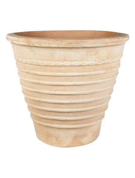 Topf »Omar«, Breite: 28 cm, terrakottafarben, Keramik