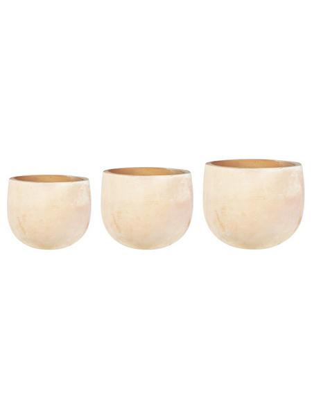 Topf »Omar«, Breite: 38 cm, terrakottafarben, Keramik