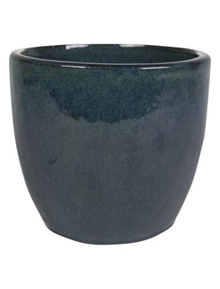 Topf »Rico«, Breite: 22 cm, blau, Keramik