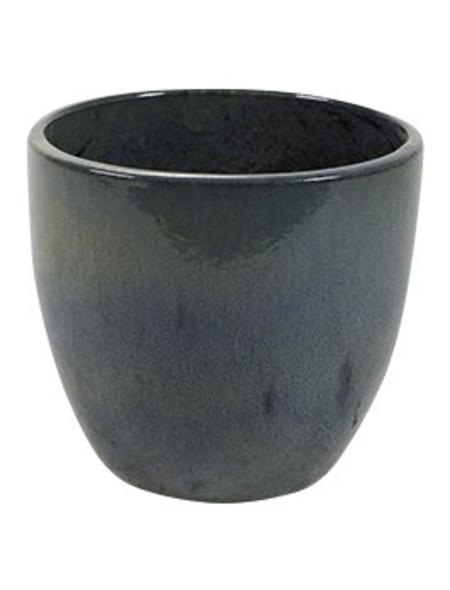 Topf »Rico«, Breite: 36 cm, blau, Keramik