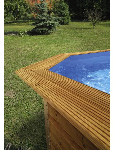 WEKA Toprail für Massivholzpool, Holz, Länge: 116 cm