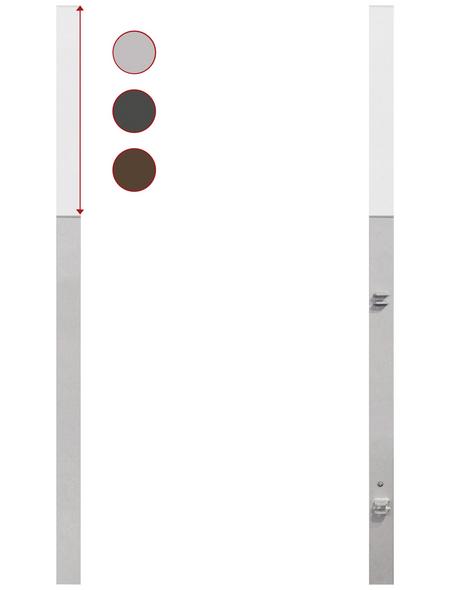 TraumGarten Torpfosten, Metall, BxLxT: 8 x 255 x 8 cm