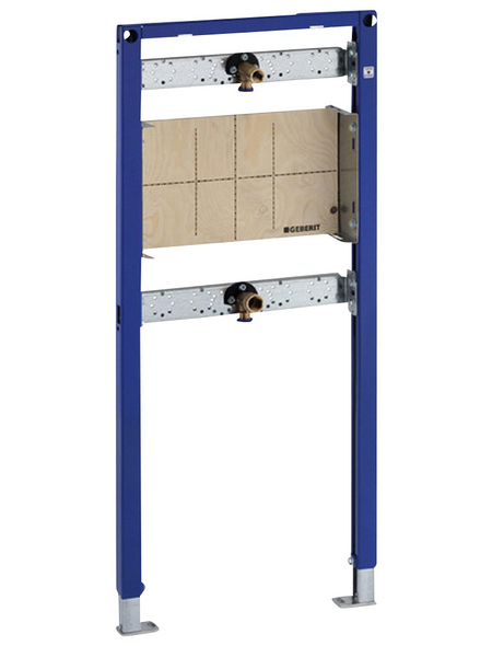 GEBERIT Trageelement »Duofix«, BxHxT: 500 x 1120 x 109 mm, Traverse Armatur höhen- und tiefenverstellbar / Montageplatte höhen- und tiefenverstellbar, blau