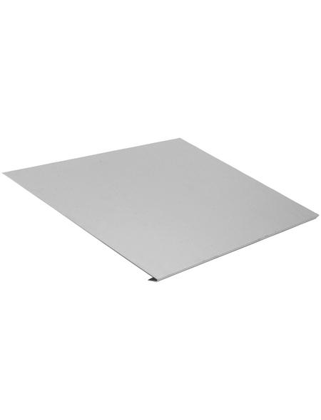 SAREI Traufstreife, BxL: 235 x 2000 mm, Aluminium, ohne Wasserfalz