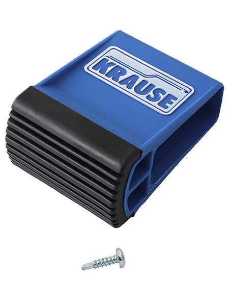 KRAUSE Traversenfußkappe »STABILO«, , Kunststoff, blau