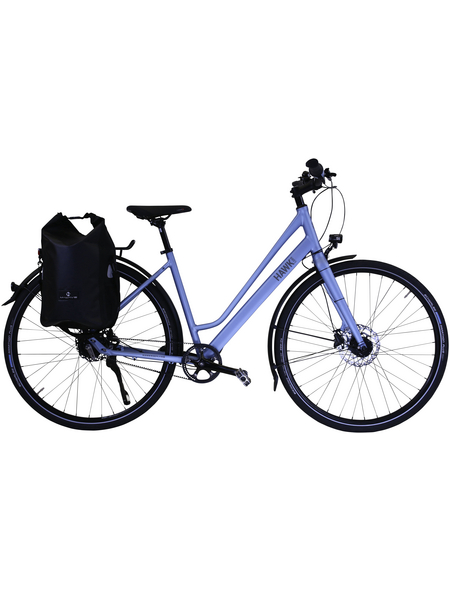 HAWK Trekkingrad »Super Deluxe Plus«, 28 Zoll, 8-Gang, Damen