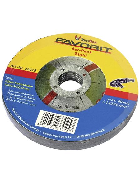 TOROFLEX Trennscheibe, Ø 115 mm, Zubehör für: Winkelschleifer