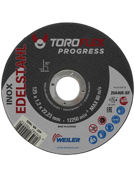 TOROFLEX Trennscheibe, Ø 125 mm, Zubehör für: Winkelschleifer