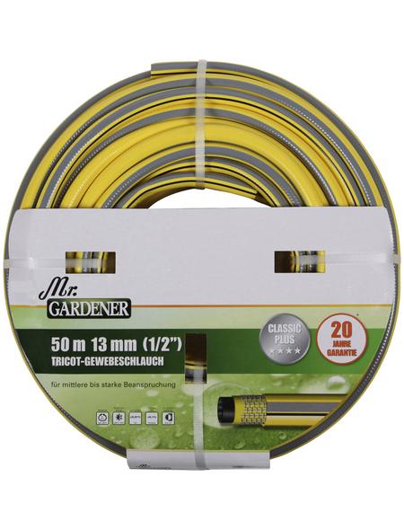 "MR. GARDENER Tricotgewebeschlauch »Classic Plus«, 13  mm (1/2""), 50  m"