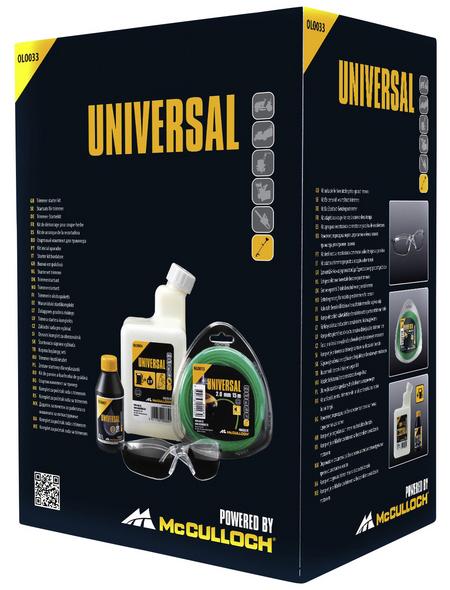 MCCULLOCH Trimmer-Starterset »Universal«
