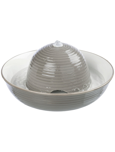 TRIXIE Trinkbrunnen Keramik, Vital Flow 1,5 l