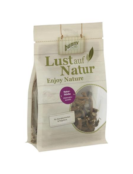 BUNNYNATURE Trockenfutter »Lust auf Natur«, für Zwergkaninchen und Nagetiere, Löwenzahnwurzel, 150 g