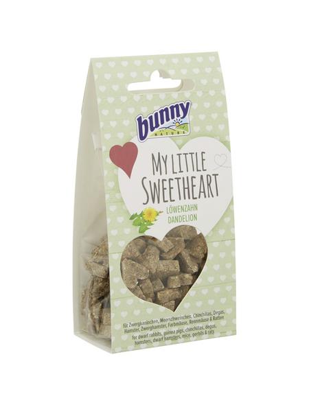 BUNNYNATURE Trockenfutter »My Little Sweetheart«, für Nagetiere, Löwenzahn, 30 g