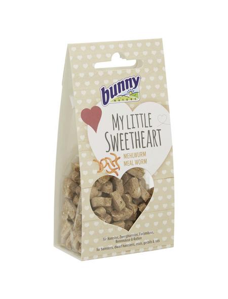 BUNNYNATURE Trockenfutter »My Little Sweetheart«, für Nagetiere, Mehlwurm, 30 g