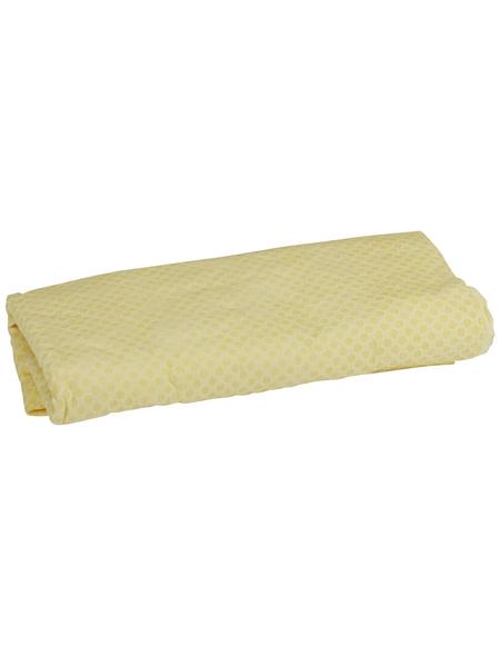 NIGRIN Trockentuch, für Fahrzeugscheiben, in gelb