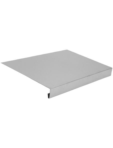 SAREI Tropfkante, BxL: 205 x 1000 mm, Aluminium