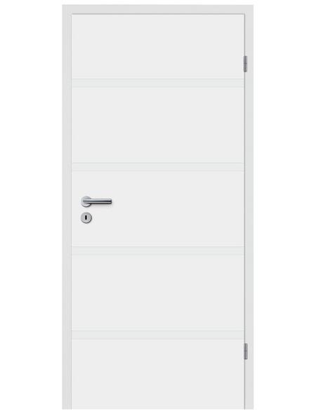 TÜRELEMENTE BORNE Tür »Fila 10 Weißlack«, Anschlag: rechts, Höhe: 198,5 cm