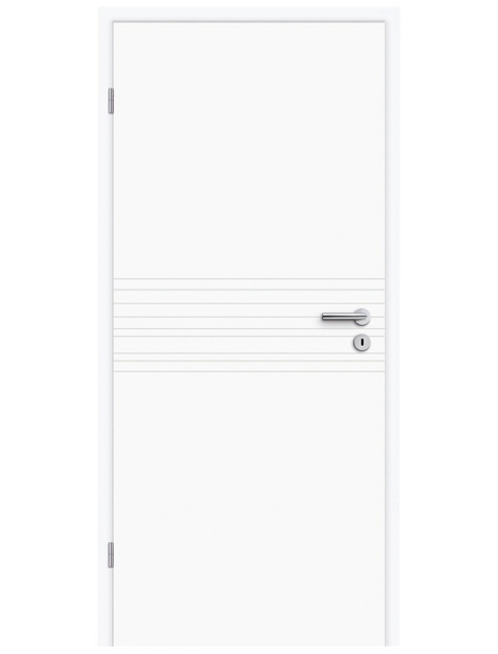 TÜRELEMENTE BORNE Tür »Fila 18 Weißlack«, Anschlag: links, Höhe: 198,5 cm