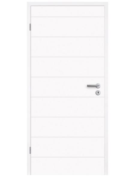 TÜRELEMENTE BORNE Tür »Fila 23 Weißlack«, Anschlag: links, Höhe: 198,5 cm