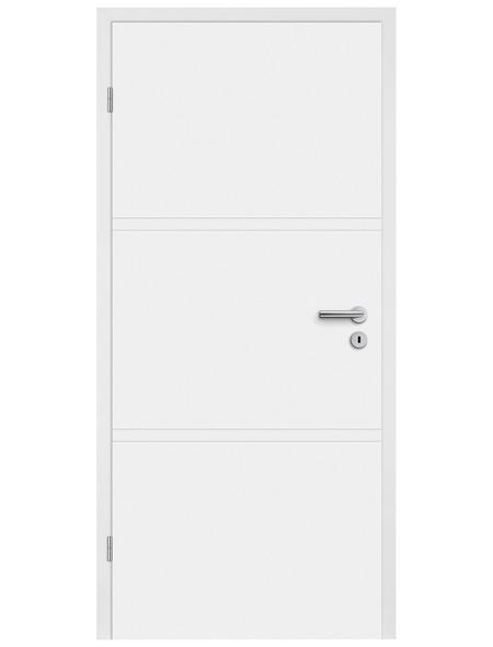 TÜRELEMENTE BORNE Tür »H02 Weißlack«, Anschlag: links, Höhe: 198,5 cm