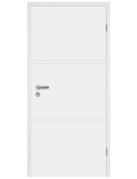 TÜRELEMENTE BORNE Tür »H02 Weißlack«, Anschlag: rechts, Höhe: 198,5 cm