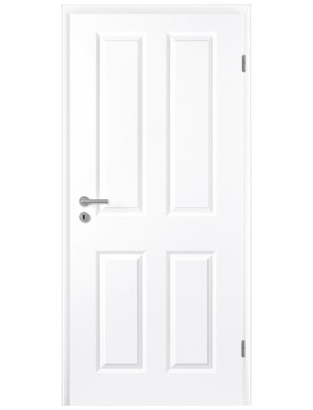 TÜRELEMENTE BORNE Tür »Klassik Weißlack«, Anschlag: rechts, Höhe: 198,5 cm