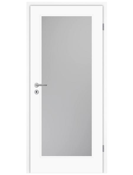 TÜRELEMENTE BORNE Tür »Lusso 01 Weißlack LA«, Anschlag: rechts, Höhe: 198,5 cm