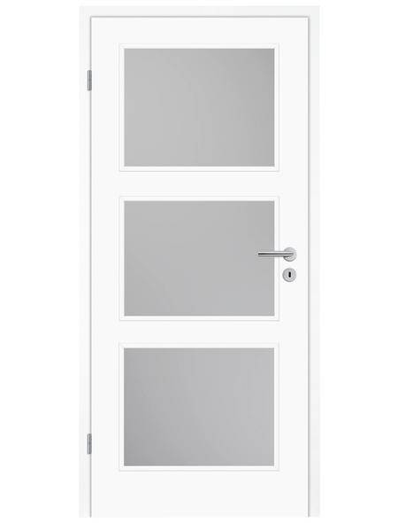TÜRELEMENTE BORNE Tür »Lusso 03 Weißlack LA«, Anschlag: links, Höhe: 198,5 cm