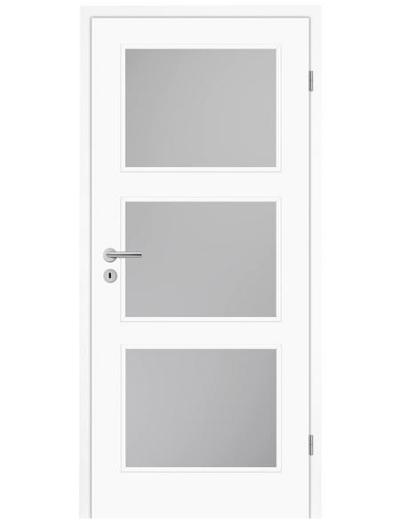 TÜRELEMENTE BORNE Tür »Lusso 03 Weißlack LA«, Anschlag: rechts, Höhe: 198,5 cm
