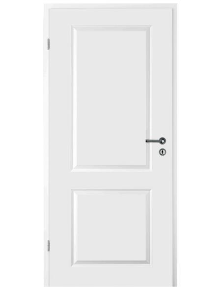 TÜRELEMENTE BORNE Tür »Palais Weißlack«, Anschlag: links, Höhe: 198,5 cm