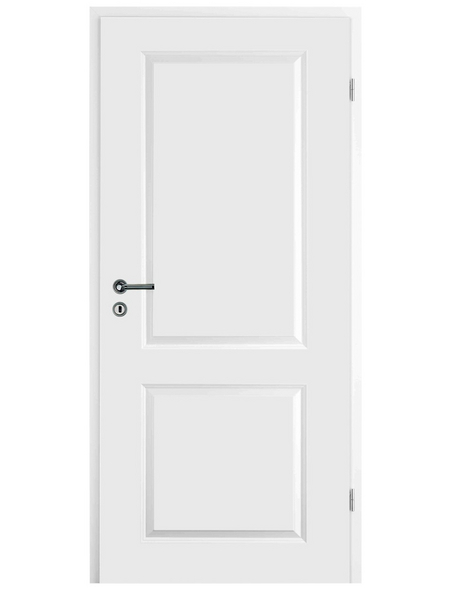 TÜRELEMENTE BORNE Tür »Palais Weißlack«, Anschlag: rechts, Höhe: 198,5 cm
