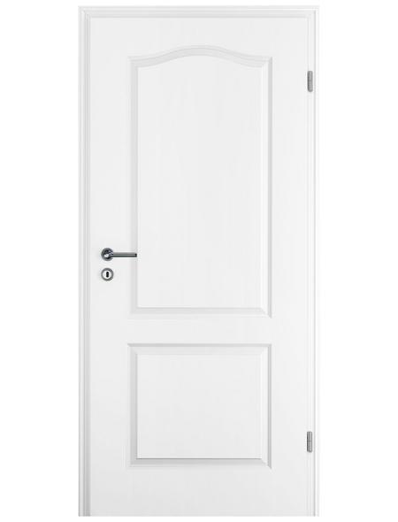 TÜRELEMENTE BORNE Tür »Prestige Weißlack«, Anschlag: rechts, Höhe: 198,5 cm