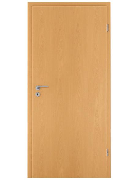 TÜRELEMENTE BORNE Tür »Standard CPL Buche«, Anschlag: rechts, Höhe: 198,5 cm