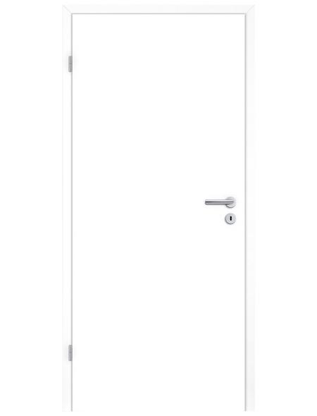 TÜRELEMENTE BORNE Tür »Standard CPL design-weiß«, Anschlag: links, Höhe: 198,5 cm
