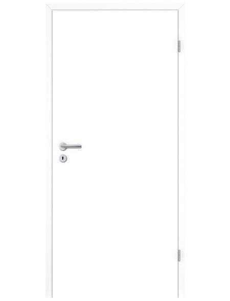 TÜRELEMENTE BORNE Tür »Standard CPL design-weiß«, Anschlag: rechts, Höhe: 198,5 cm