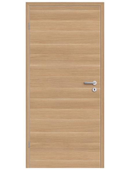 TÜRELEMENTE BORNE Tür »Standard CPL Sonneneiche Q«, Anschlag: links, Höhe: 198,5 cm