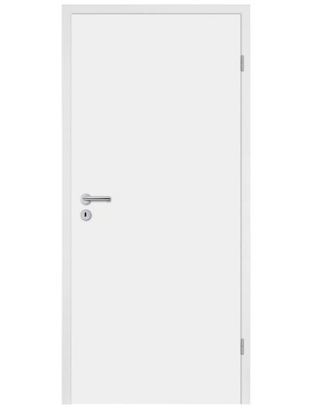 TÜRELEMENTE BORNE Tür »Standard CPL weiß«, Anschlag: rechts, Höhe: 198,5 cm