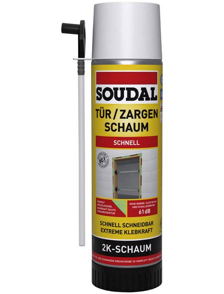 SOUDAL Tür- und Zargenschaum, 2K, 400 ml, 35 kg/m³