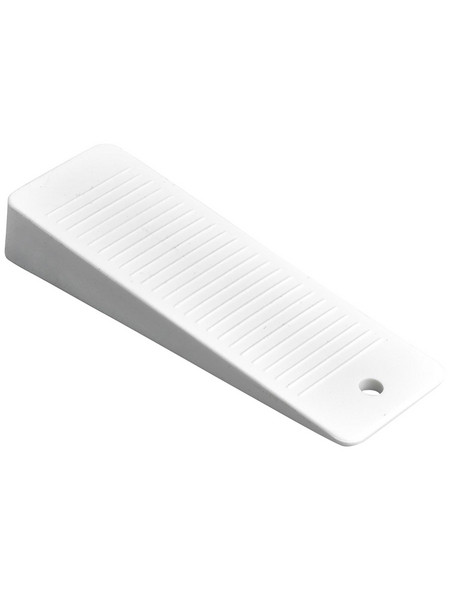 HETTICH Türkeil, Kunststoff, weiß, 95 x 32 x 2-11 mm