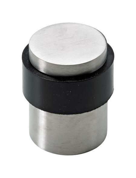 HETTICH Türstopper, Stahl, silber, Ø 34,5 x 41 mm