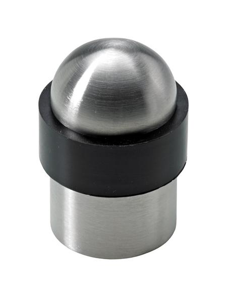 HETTICH Türstopper, Stahl, silber, Ø 34,5 x 51 mm