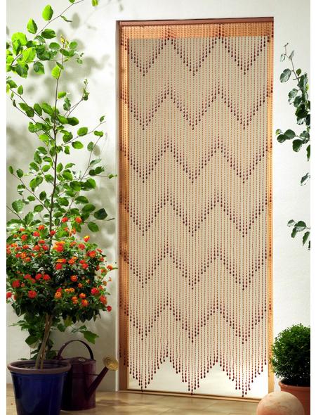 CONACORD Türvorhang, braun, Kunststoff