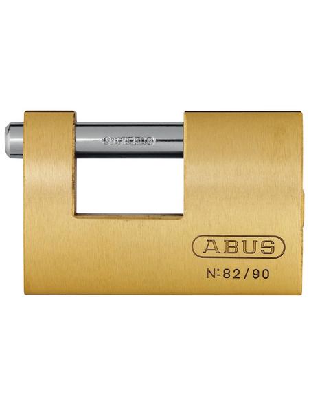 ABUS Türzylinder, aus Metall, 95 mm Breite, messingfarben