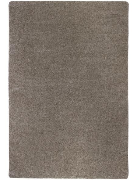 LUXORLIVING Tuft-Teppich »Fondi«, BxL: 133 x 190 cm, taupe