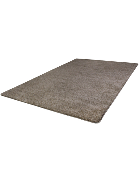 LUXORLIVING Tuft-Teppich »Fondi«, BxL: 67 x 140 cm, taupe
