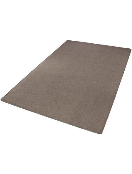 ANDIAMO Tuft-Teppich »Grotone«, BxL: 133 x 190 cm, dunkelbeige