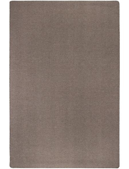 ANDIAMO Tuft-Teppich »Grotone«, BxL: 67 x 140 cm, dunkelbeige