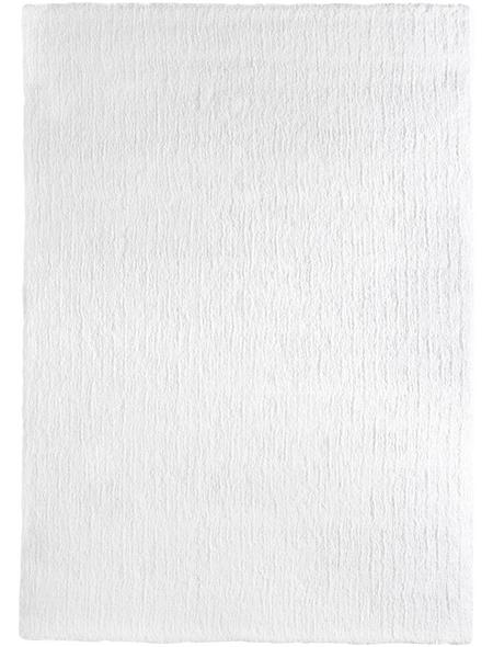 LUXORLIVING Tuft-Teppich »San Donato«, BxL: 140 x 200 cm, weiß