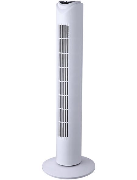GLOBO LIGHTING Turmventilator »TOWER«, 50 W, Leistungsstufen, Ø: 26 cm